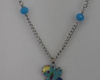 My Little Pony Rainbow Dash Necklace (Silver)