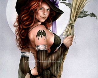 Witch Signed 11x14 Print