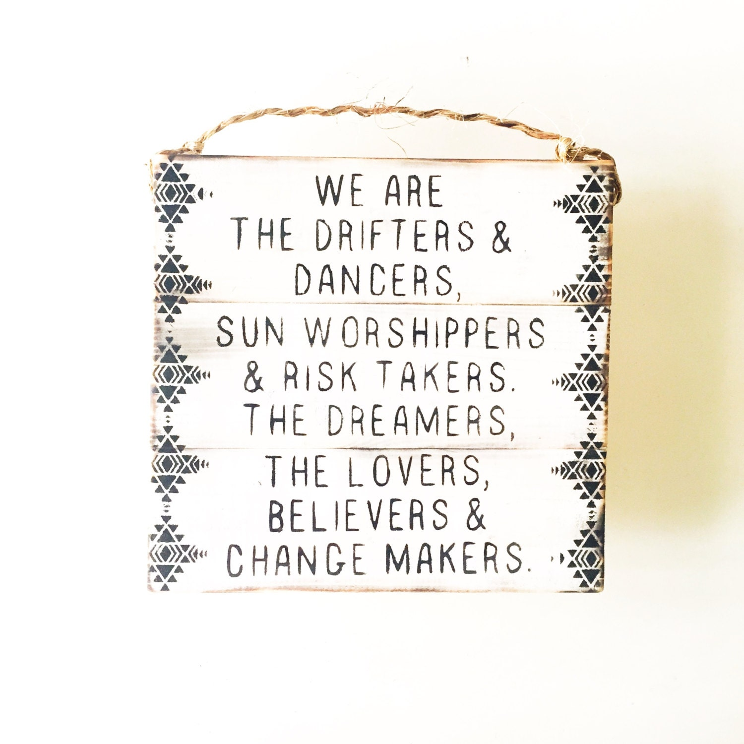 Urban Outfitters Wall Art dreamers sign / wall art / sea gypsy california / brandy melville