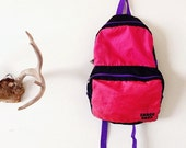Extra thin lightweight old school Snack Pack Backpack