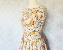 Koi Dress - Japanese Inspired, Spoonflower Print, Elegant, Formal, Fish,