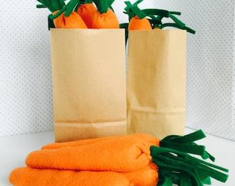 Felt Food, Carrots, Play Kitchen, Pretend Play