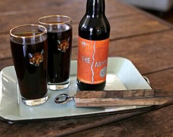 Bourbon Barrel Stave Bottle Opener