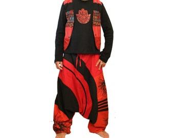 Afgani pants  - Aladdin pants - Afghani Pants - Alibaba Pants - Men - Women - Cotton - X-Long