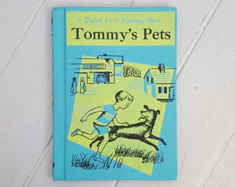 Tommy's Pets First Reading Book 1958 EC
