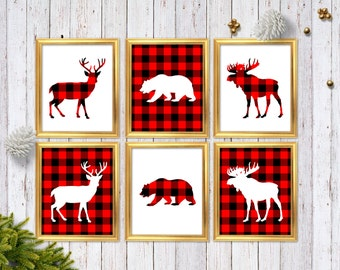 Woodland Home Decor Etsy