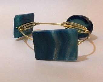 Blue Stone Bangle