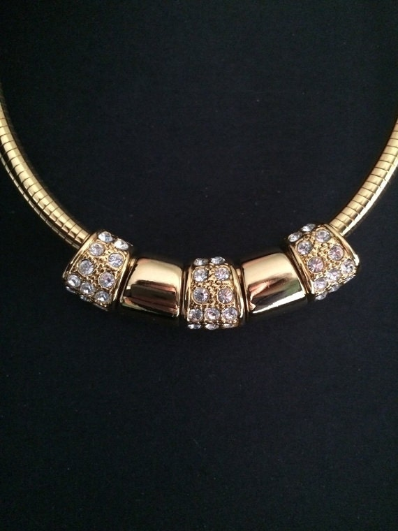 Joan rivers omega necklace with 5 reversible slides for Joan rivers jewelry necklaces