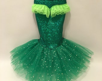 Little Mermaid Princess Costume (Skirt Only)