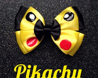 Pikachu inspired bow