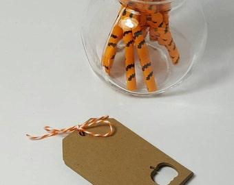 halloween gift tags - halloween party - halloween decorations - halloween favors - halloween favor tags - halloween - pumpkins - skulls