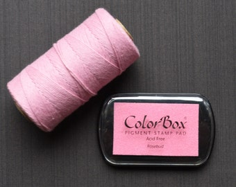 Rosebud Color Box Ink Pad - Archival Pigment Ink (Item 15185)