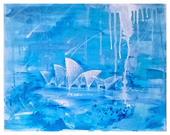 Original Acrylic Painting / The Sydney Opera House