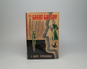 The Great Gatsby by F. Scott Fitzgerald Grey Walls Press, 1948 First Edition, thus 1st Impression w/ Scarce Unclipped Dust Jacket Book