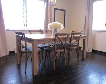 Dining Table, Parsons Kitchen Table