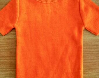 Baby orange 70s top sz 0 - 1