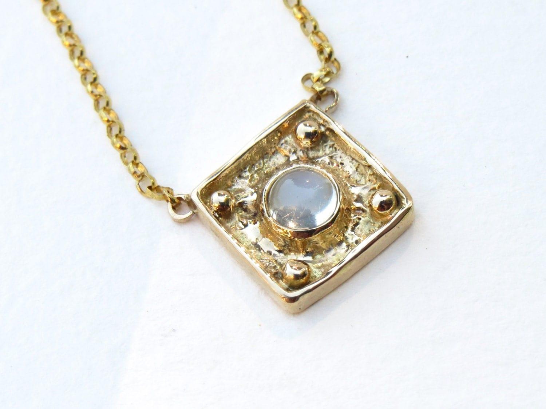 moonstone jewelry gold - photo #8