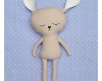Sleeping Rabbit Soft Toy