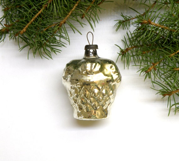 Vintage basket christmas ornaments collectible glass ornament for Collecting vintage christmas ornaments