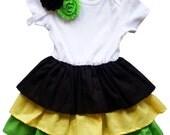 Jamaica Pride Baby Girl Dress[RDJ]