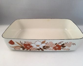 Vintage Kingsbury, Dogwood Cookware Collection Casserole, Made in Japan