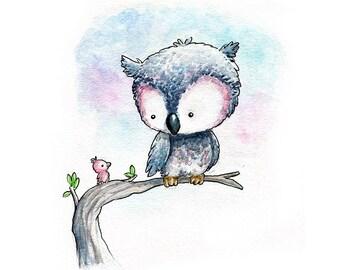 A Little Gray Owl