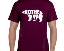 Brother Bear Shirt Brother Gift Brother Shirts Gifts for Brother Birthday Gift Big Brother Gift Christmas Gift