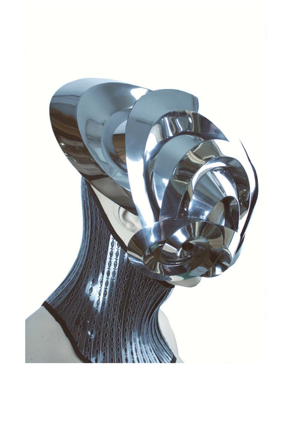 Mantis alien robot mask headpiece armour sci fi futuristic