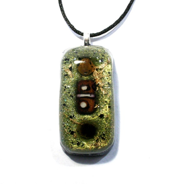 tiger s eye orgonite pendant orgone and energy