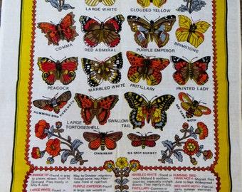 Butterflies and Moths Tea towel - FREE POSTAGE