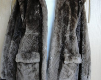 Genuine Givenchy fully lined soft fur coat maybe chinchilla