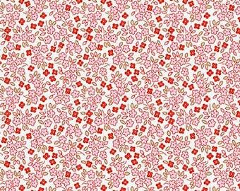 Apple Farm Daisy White by Elea Lutz for Penny Rose Fabrics C5456-White