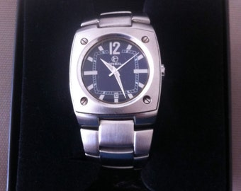Watch BREIL brushed stainless steel - model F973