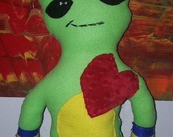 Custom Alien Plushie