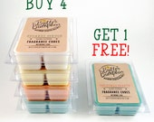 Black Friday Sale Scented Wax Melts Buy 4 Get 1 Free - Choose Your Tart Candle Fragrances - Christmas Holiday Bakery More Wax Cube Choices