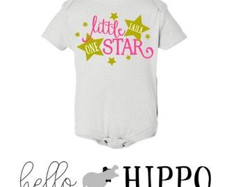 Star Onsesie/First Birthday Onesie/Twinkle Twinkle Little Star/Birthday Outift/ Birthday Shirt