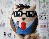 Doctor Whoo - Handmade Felt Plush Toy