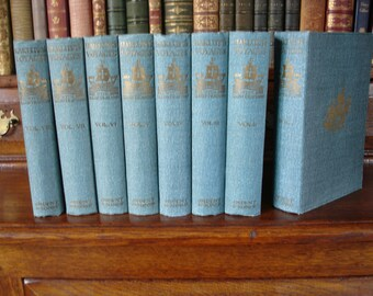 HAKLUYT'S VOYAGES - 8 volumes