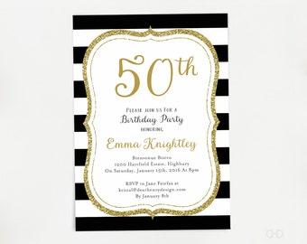 65th birthday invitations | Etsy