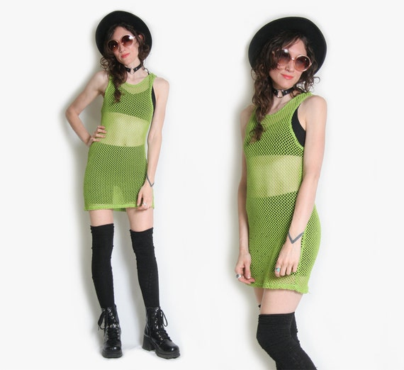 Lime Green Club Dresses 90s Lime Green ...
