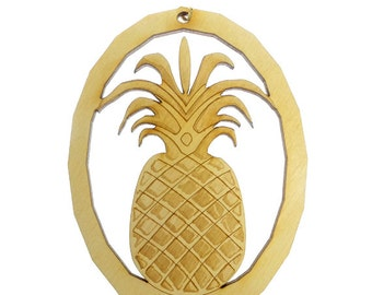 PINEAPPLE Ornament - Pineapple Gifts - Pineapple Ornaments - Custom Pineapple Gift - Pineapple Decor - Pineapple Art - Personalized Free
