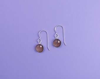 Earrings, Dangles, Earl Gray, Handmade Jewelry, accessories, Gifts