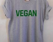 Vegan Unisex Tshirt Mens Ladies Shirt