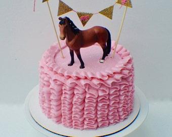 Horse Cake Cake topper, Horse party, Cake topper, smashcake topper