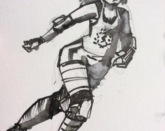 Roller girl II