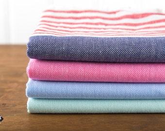 S A L E, Nautical Turkish Towel, Peshtemal, Beach Towel, Hammam Towel