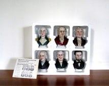 Avon Presidential Bust Series Bud Hastins Original Bottles Limited Edition of 1500