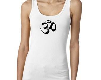 yoga tank top - om, om tank top, om tank, yoga tank, om top, yoga top, meditation shirt, meditation tshirt, om shirt, om tshirt, om, #LT26