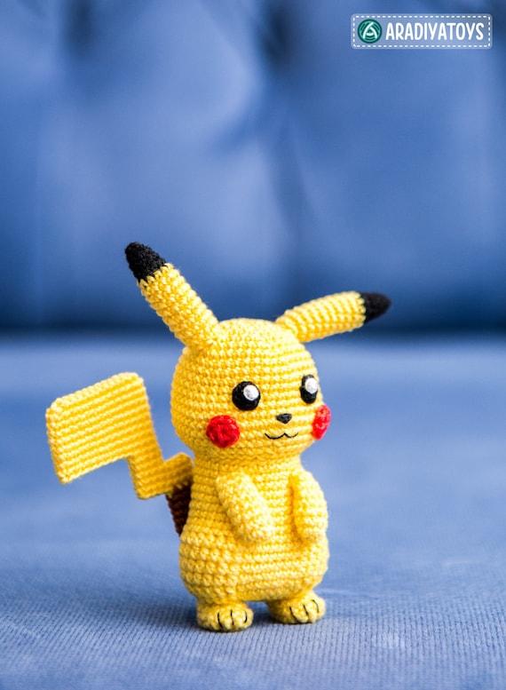 Crochet Pattern of Pikachu from