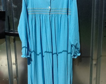 Vintage ROAMAN's Long Sleeve Nightgown Plus Size